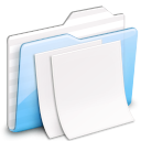 paper, ekisho, document, deep, File, ocean WhiteSmoke icon