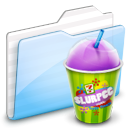 deep, ekisho, ocean, slurpee Black icon