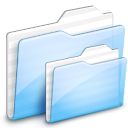 deep, Folder, ekisho, ocean Lavender icon