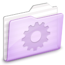 ocean, Folder, deep, ekisho, Smart Lavender icon