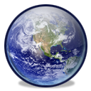 globe, earth, planet, world MidnightBlue icon