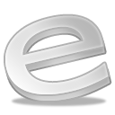 Explorer, internet, Alt Silver icon
