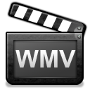 video, Wmv DarkSlateGray icon