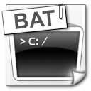 bat DarkSlateGray icon
