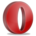 Opera, Browser IndianRed icon