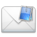 Message, mail, envelop, Letter, Email WhiteSmoke icon