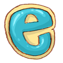 Ie, Browser MediumTurquoise icon