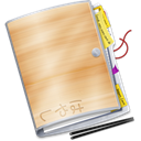 paper, document, File BurlyWood icon