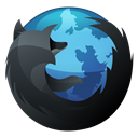 inverse, Firefox, Browser, Hp DarkSlateGray icon