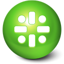 Reboot, cute, Ball OliveDrab icon
