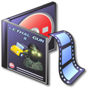 movie, video, Vcd, film DarkSlateGray icon