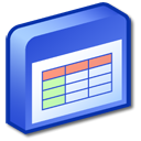 table RoyalBlue icon