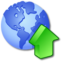 Publish RoyalBlue icon