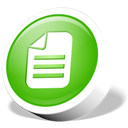 File, document, webdev, paper LimeGreen icon