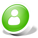 user, Human, people, profile, webdev, Account LimeGreen icon