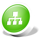 Map, webdev, site LimeGreen icon