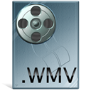 Wmv, video LightSlateGray icon