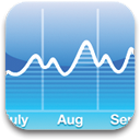 chart, graph CornflowerBlue icon