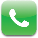 telephone, Tel, phone LimeGreen icon