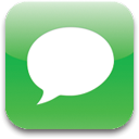 Blank, speak, Comment, Chat, Empty, talk LimeGreen icon