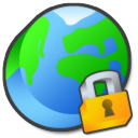 security, internet LimeGreen icon