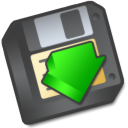 save as, save, or, to, Floppy, As DarkSlateGray icon