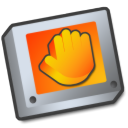 Folder, shared Black icon