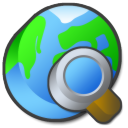 Browser, internet LimeGreen icon