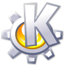 Kmenu Black icon