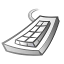 Keyboard Black icon