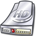 unmount, hard disk, hard drive, Hdd DarkSlateGray icon