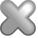 File close DarkGray icon