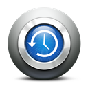 history, backup, time, machine, time machine Black icon