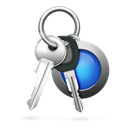 password, keychain, Access Black icon