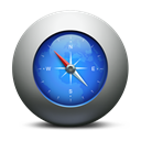 compass, safari, Browser Black icon