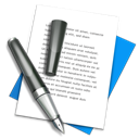 write, document, textedit, writing, Text, File, Edit Black icon