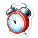 alarm clock, history, Clock, time, Alarm Black icon