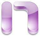 onenote Black icon