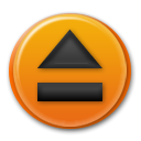toolbar, Eject, Alt Chocolate icon