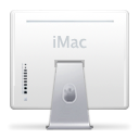 Back, Left, Imac, previous, Backward, Arrow, prev WhiteSmoke icon
