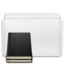 Library, Folder WhiteSmoke icon