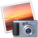 Iphoto Black icon