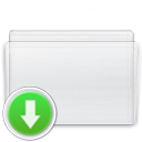 drop, Folder, Box Lavender icon