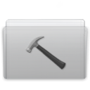 Graphite, Folder, Developer Silver icon
