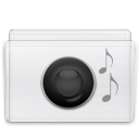 Folder, voice, sound Lavender icon