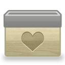 Favorite, Ico, Folder Gray icon