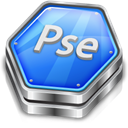 photoshop, adobe, Elements, Ps Black icon