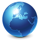 world, Browser, globe, earth, planet, internet, Blue SteelBlue icon