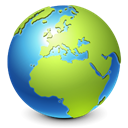 globe, earth, internet, real, world, planet, Browser YellowGreen icon