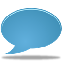 Comment, Chat, speak, talk chat, talk SteelBlue icon